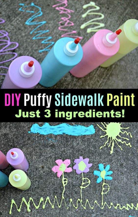 puffy paint DIY