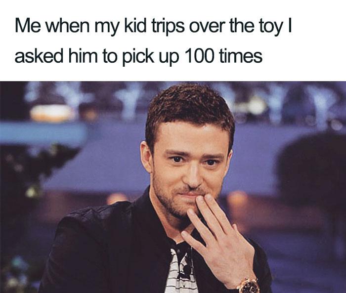 justin timberlake kids meme