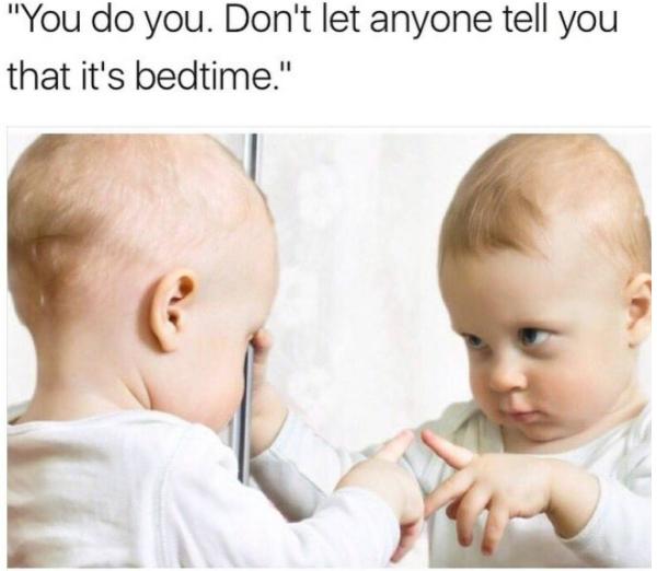 baby pep talk meme